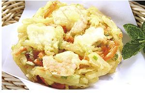 【威海运都】☆油炸海鲜菜饼